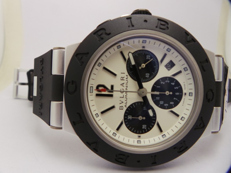 Bvlgari Aluminium White Dial