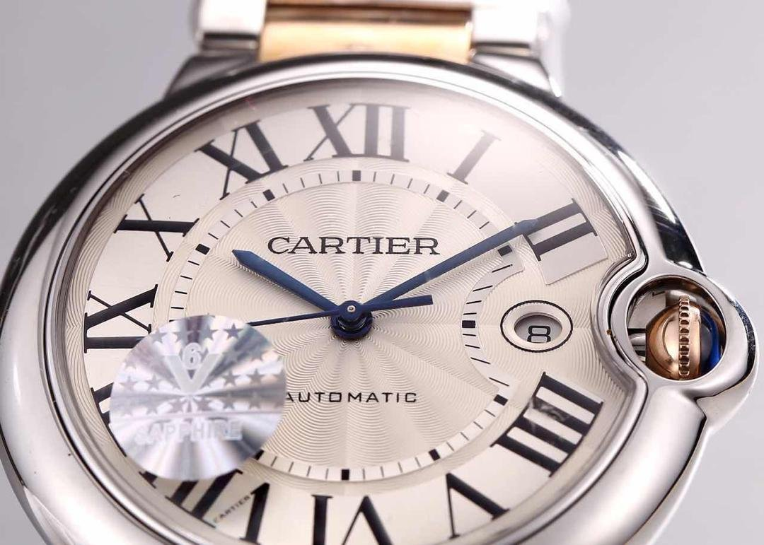 Cartier Ballon Bleu Sunray White Dial