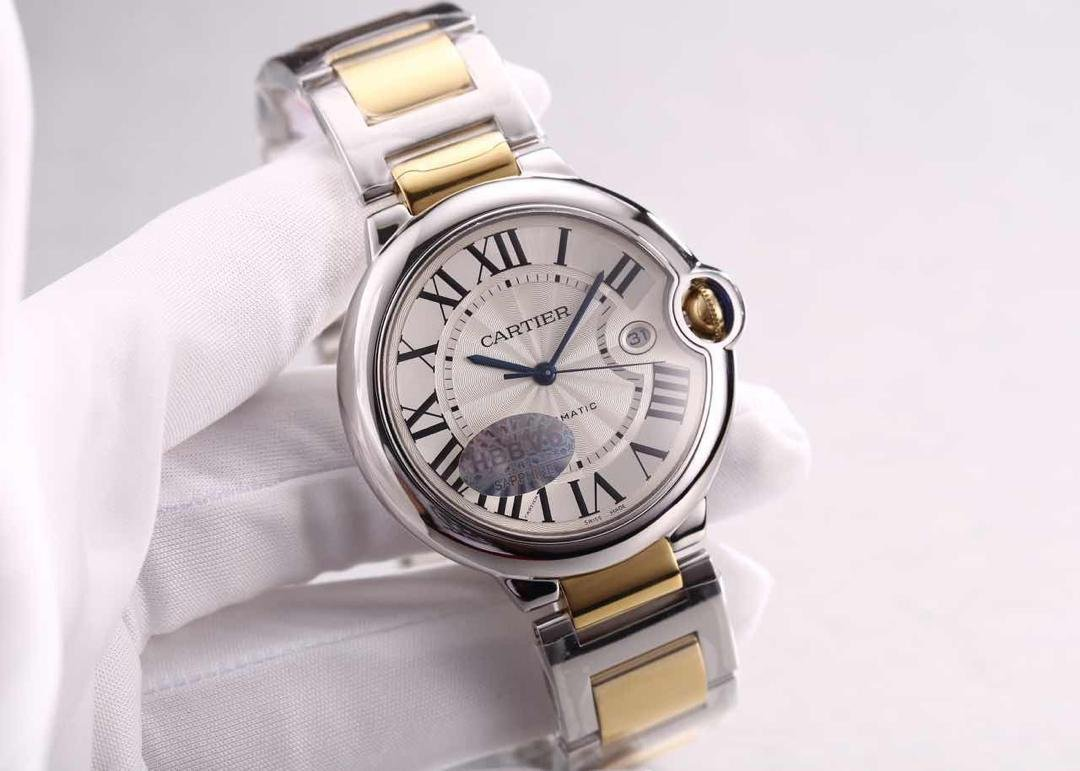 Cartier Ballon Bleu Two Tone Watch Replica
