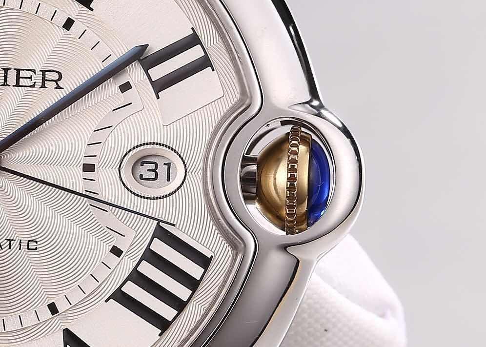 Cartier Ballon Bleu W69009Z3 Blue Hand