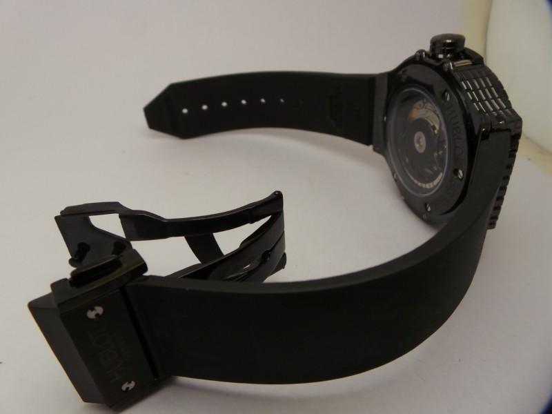 Hublot Black Caviar Black Rubber Strap