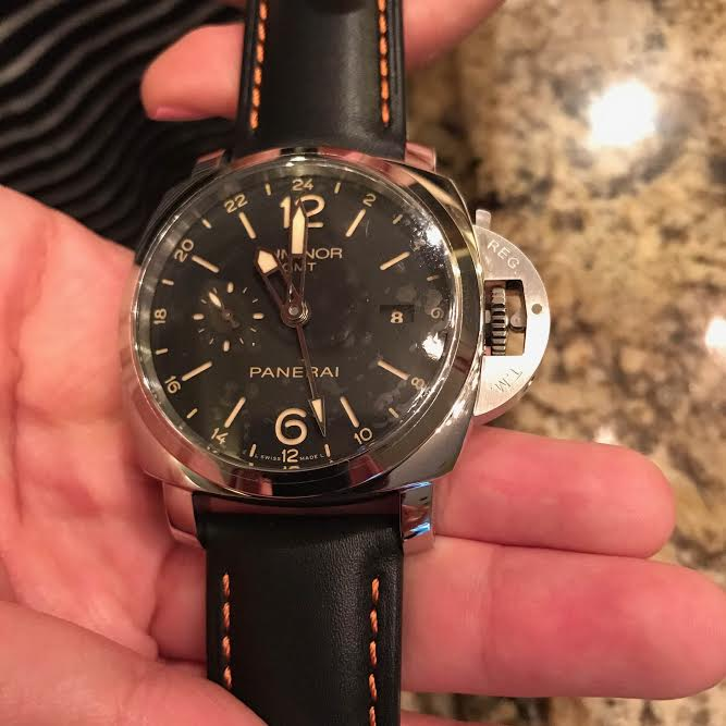 Panerai Real GMT Replica Watch