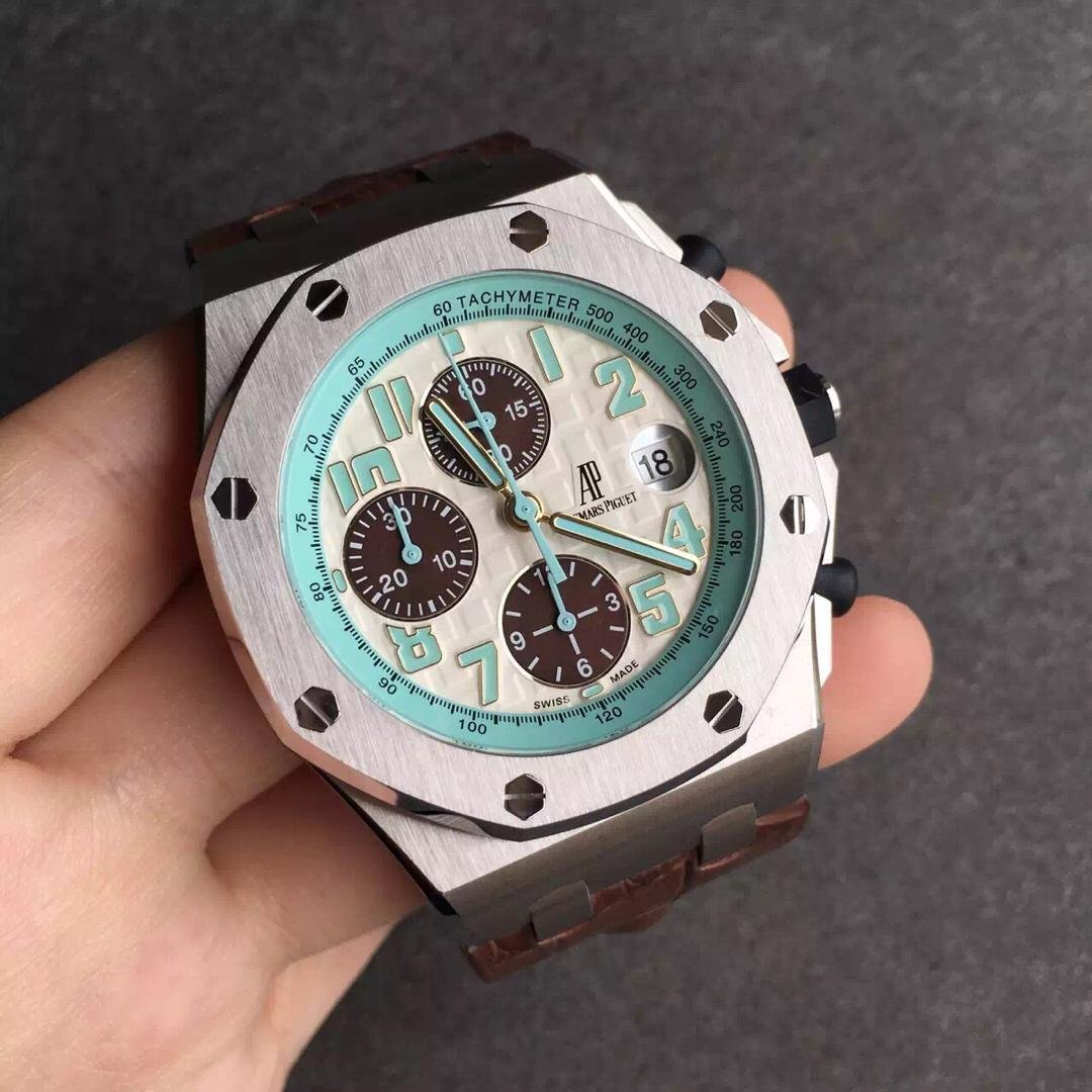 Replica Audemars Piguet Montauk Highway Blue Dial Watch
