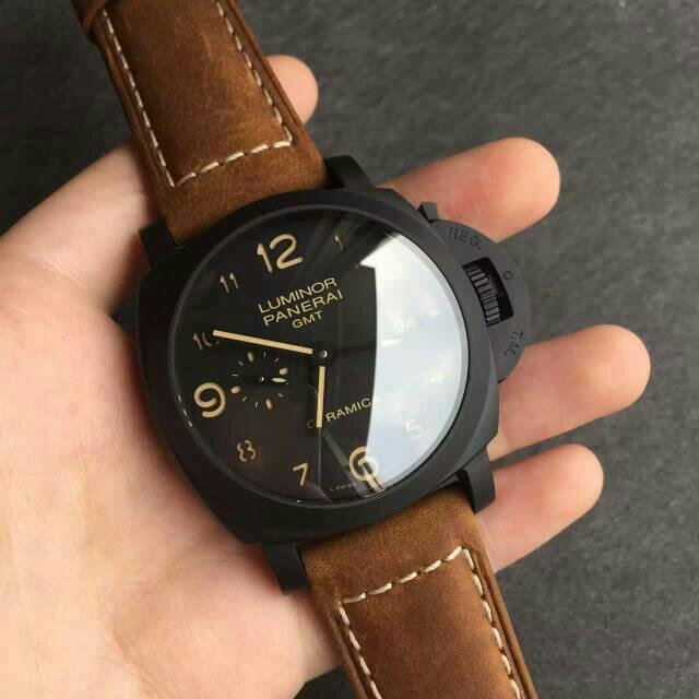 Replica Panerai Luminor 1950 3 Days GMT PAM 441 Watch