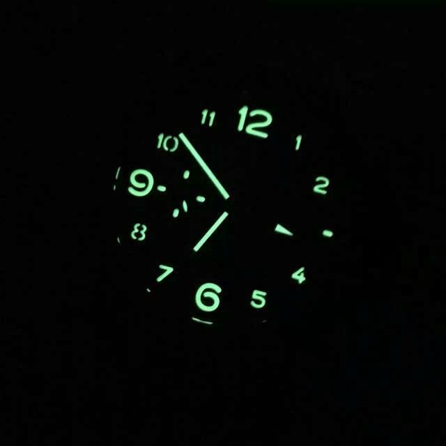 Replica Panerai PAM 441 Ceramica Watch Dial Lume