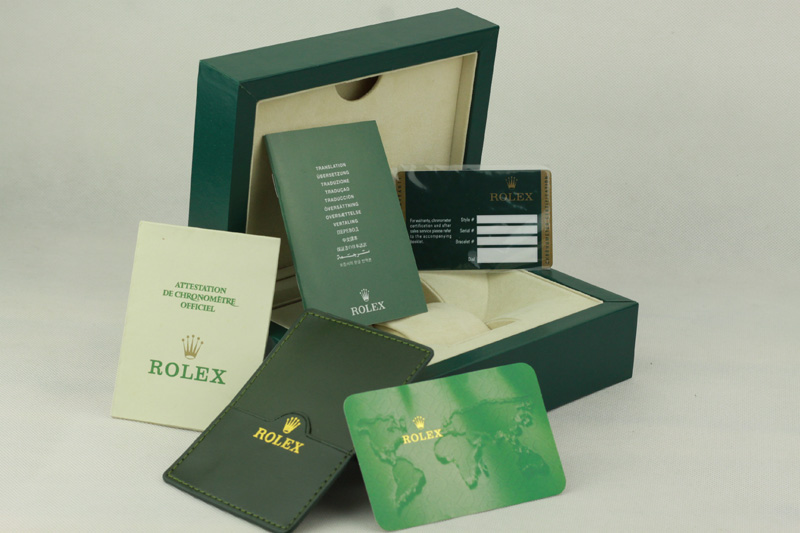 Rolex Box with Card