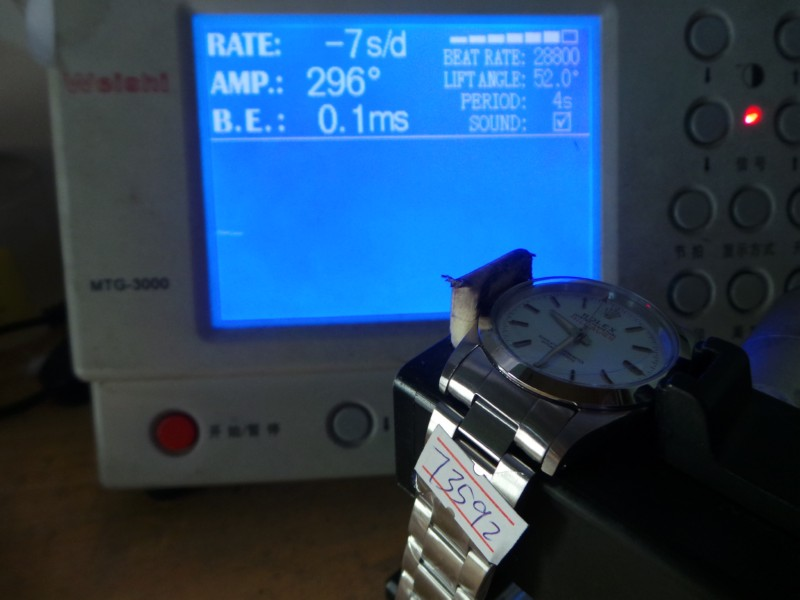 Rolex Milgauss 1019 Movement Test