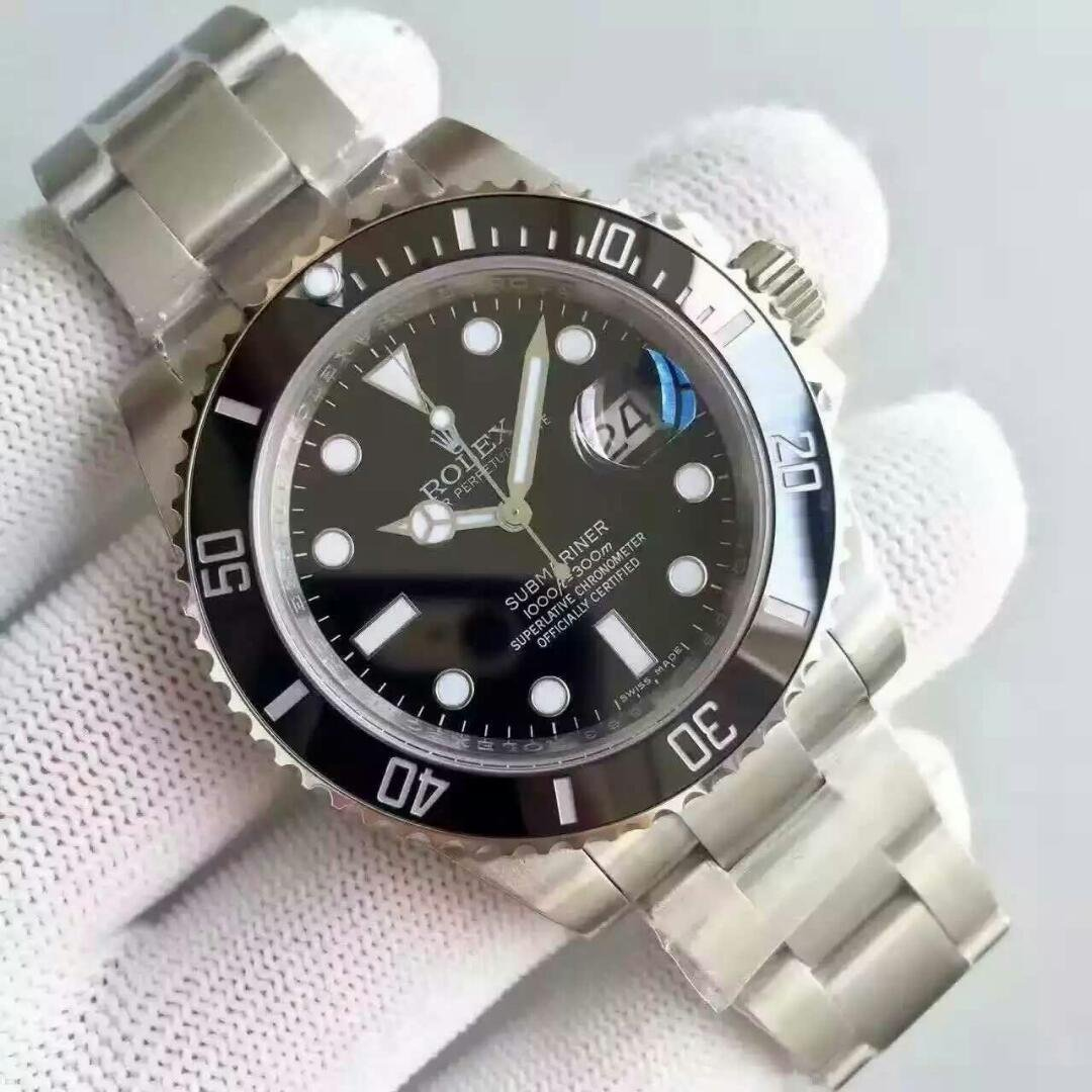 Best Rolex Black Submariner 116610LN Replica 1