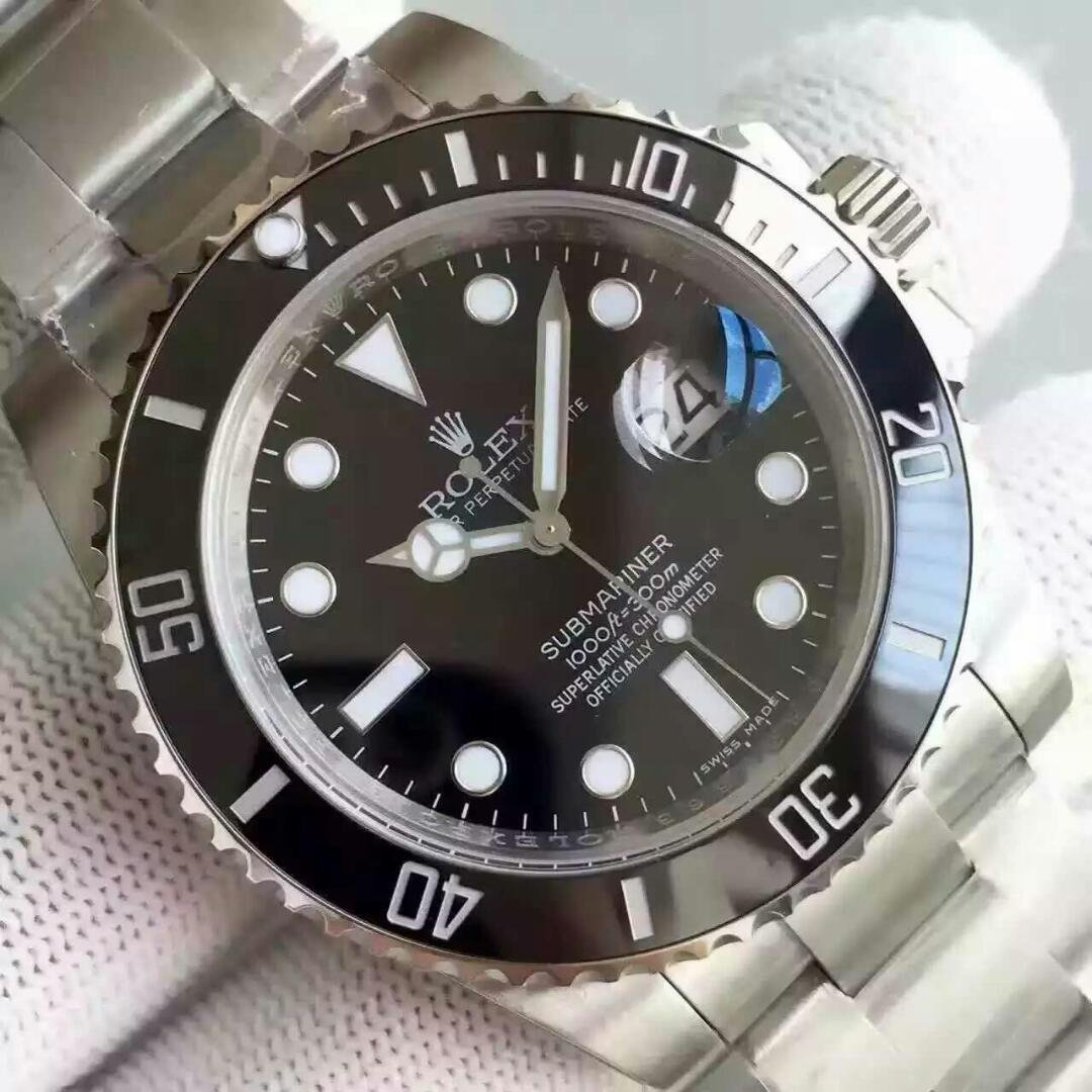 Best Rolex Black Submariner 116610LN Replica 2