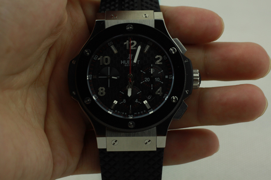 Hublot Big Bang Steel Rubber Replica 1