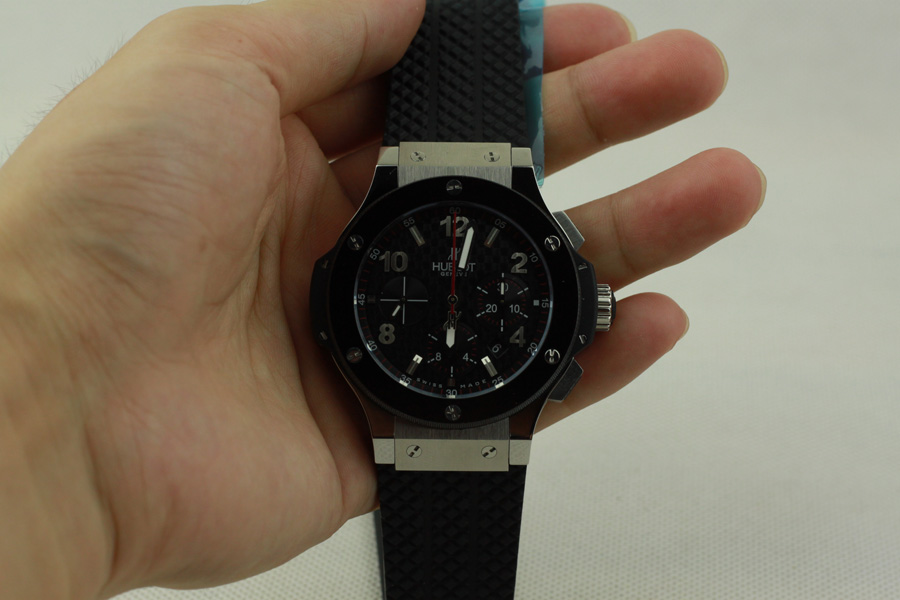 Hublot Big Bang Steel Rubber Replica