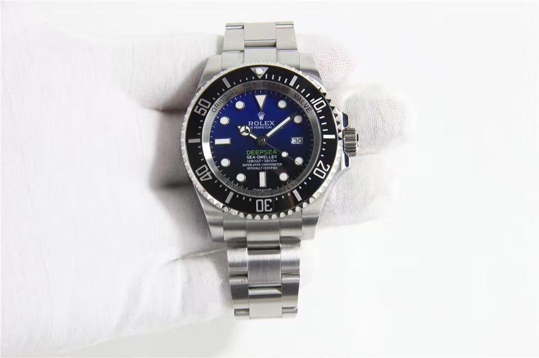 Rolex Deepsea Sea-Dweller D-Blue Noob Replica