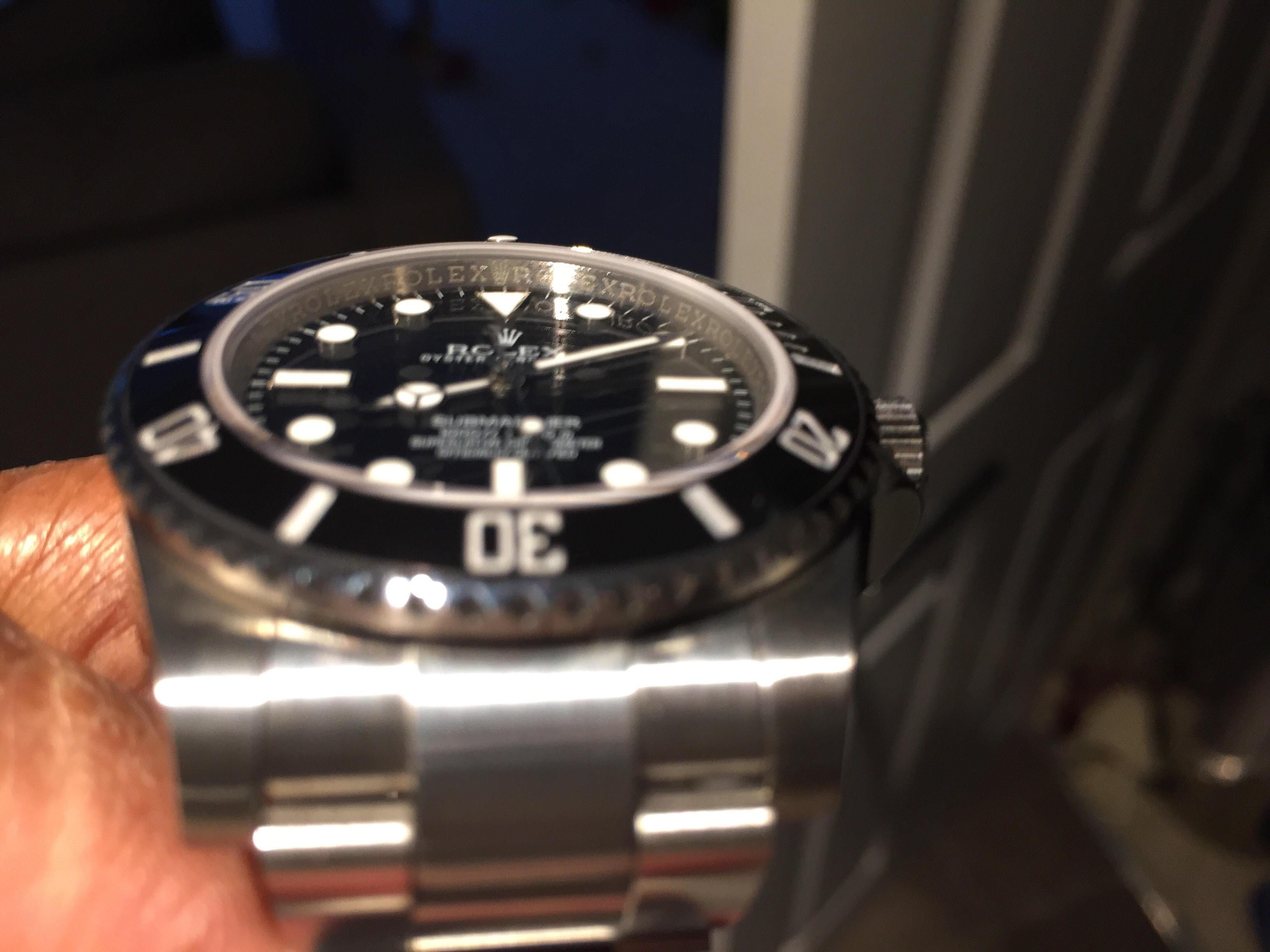Rolex Sub Rehaut