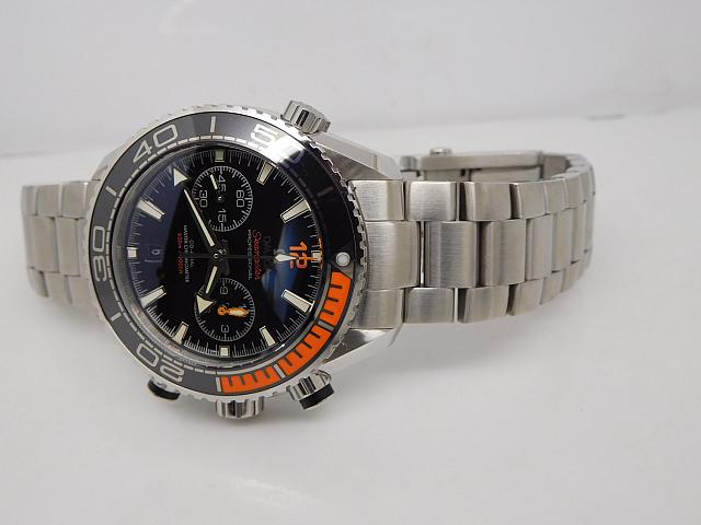 Omega Planet Ocean 600m Steel Bracelet