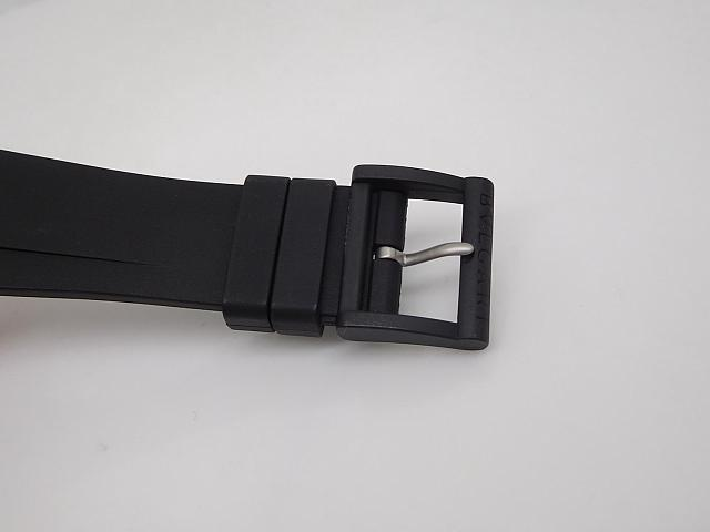 Diagono Magnesium Black Tang Buckle