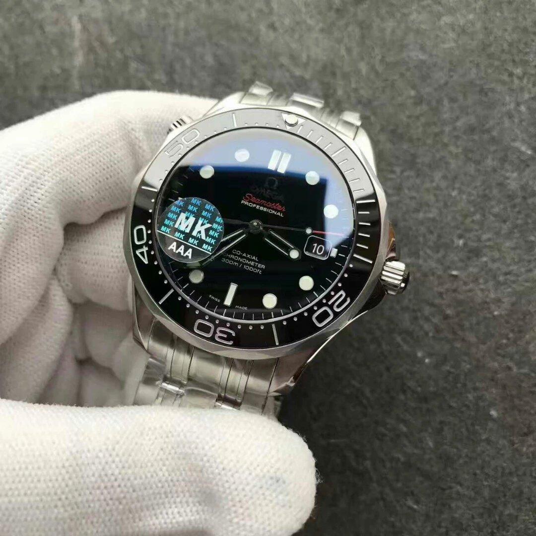 Omega Seamaster 300 Black Dial