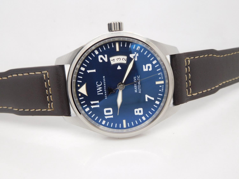 IWC Mark XVII Le Petit Prince Blue Dial