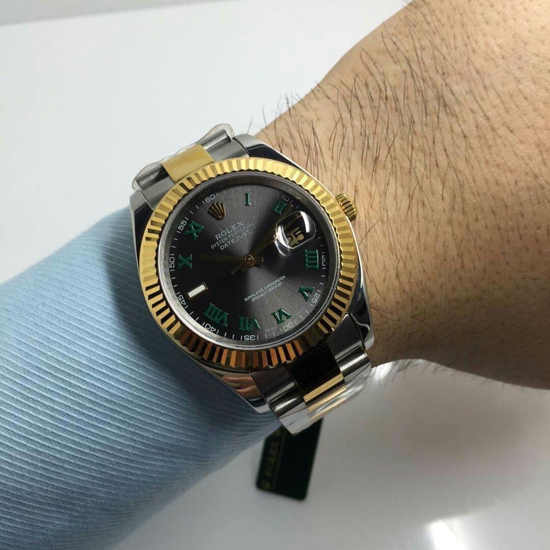 Rolex 116333 Golden Watch on Wrist