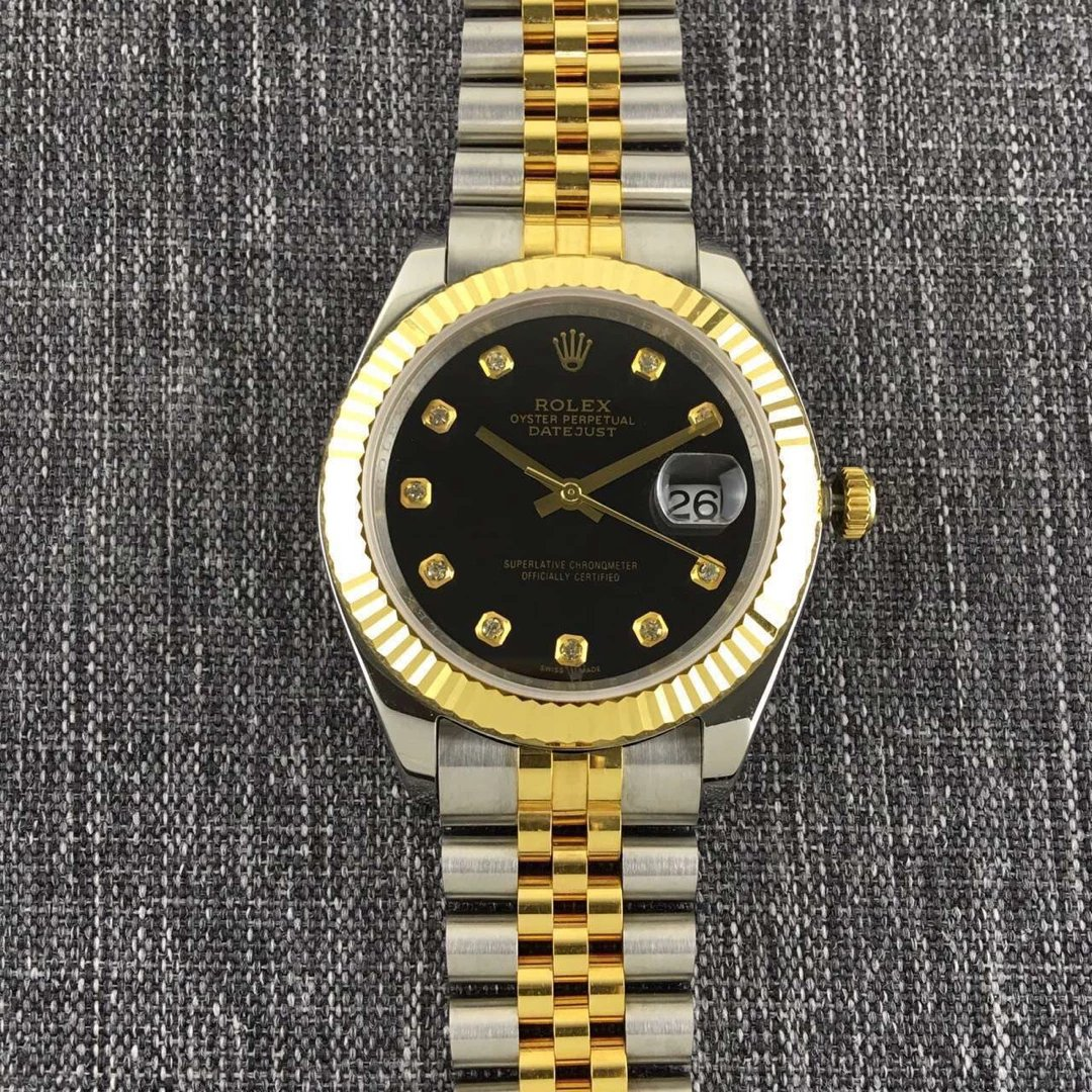 Rolex Datejust II Diamond Black