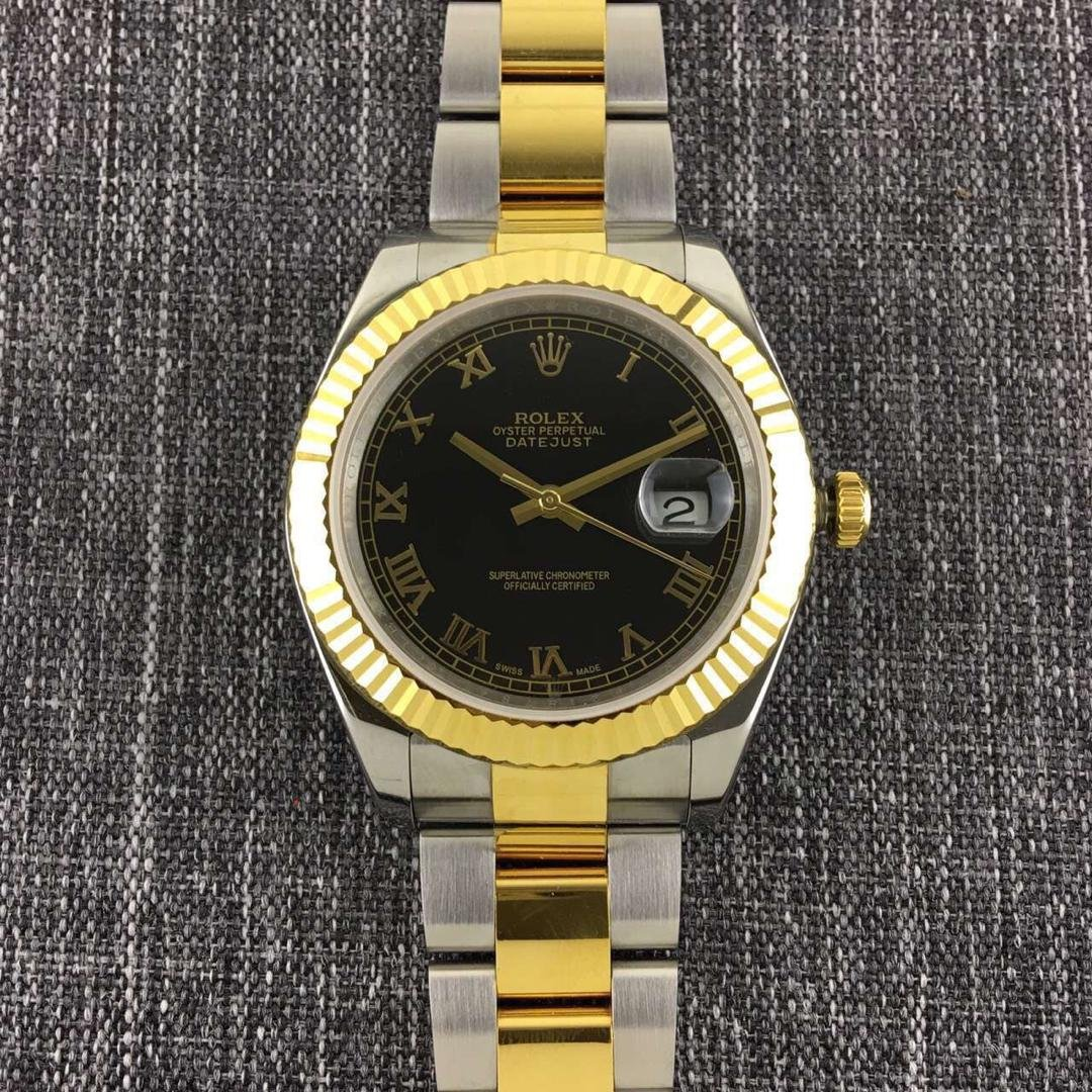 Rolex Datejust II Golden Black Rome
