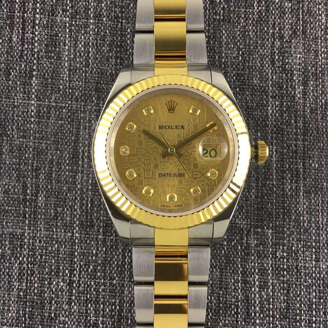 Two Tone Datejust II Oyster Bracelet