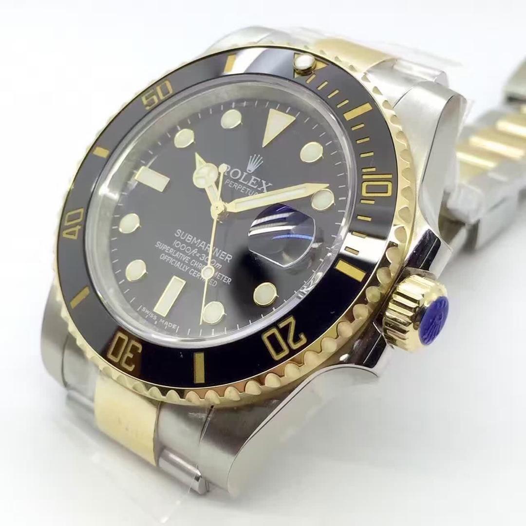 Rolex 116613 Replica Crown