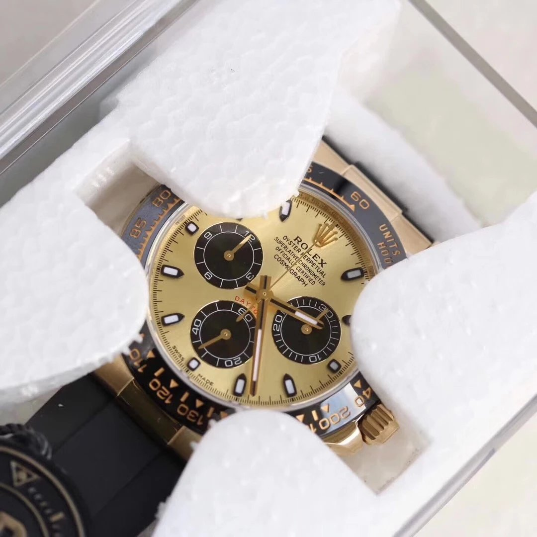AR Factory Replica Rolex Gold Daytona