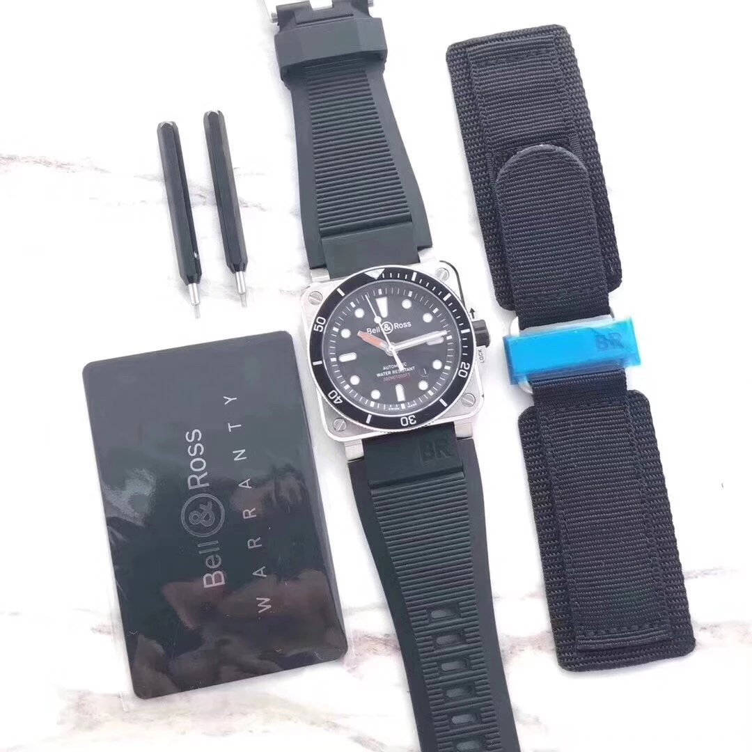 Replica Bell & Ross BR 03-92 with Nylon Strap
