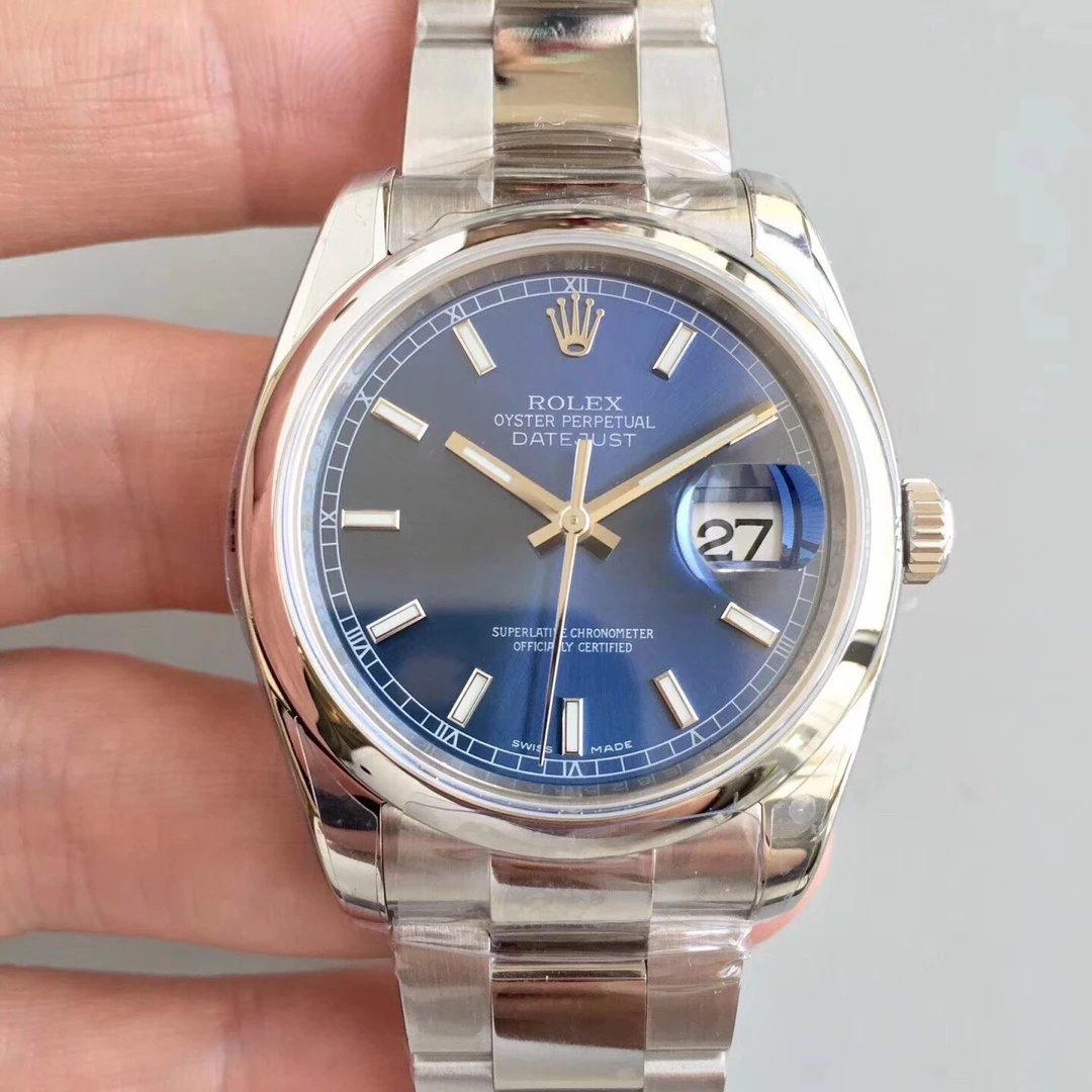 Replica Rolex Datejust 36mm Blue