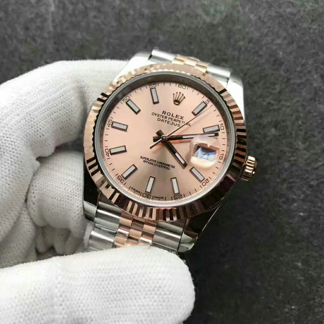 126331 Datejust Rose Gold Dial