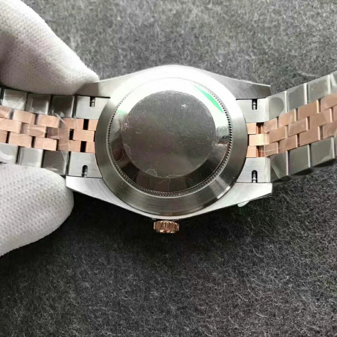 126331 Datejust Steel Case Back