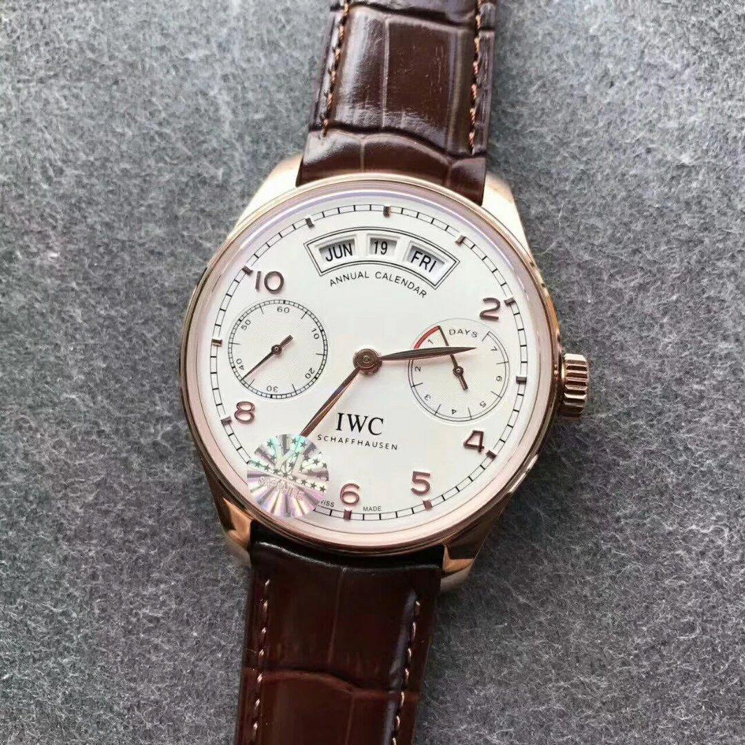 IWC IW503504 White Dial