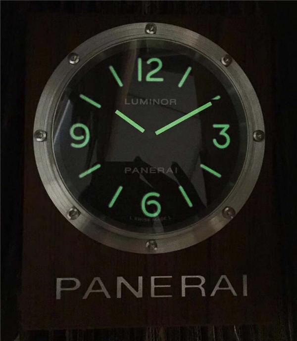 Panerai Wall Clock Lume Dial