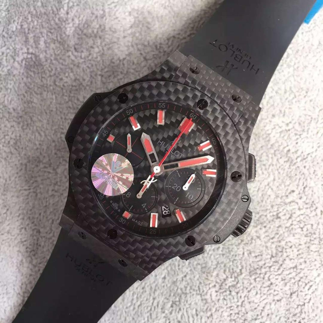 Replica Hublot Carbon Fiber Watch