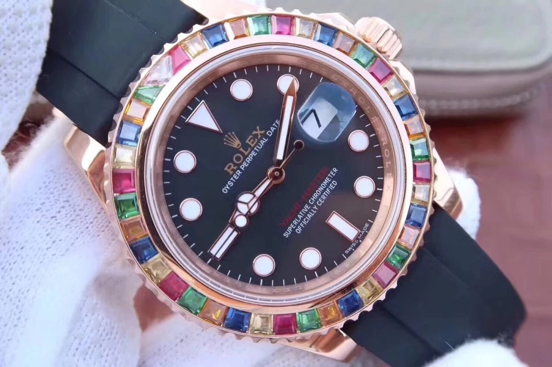 Replica Rolex YachtMaster 116695SATS Dial