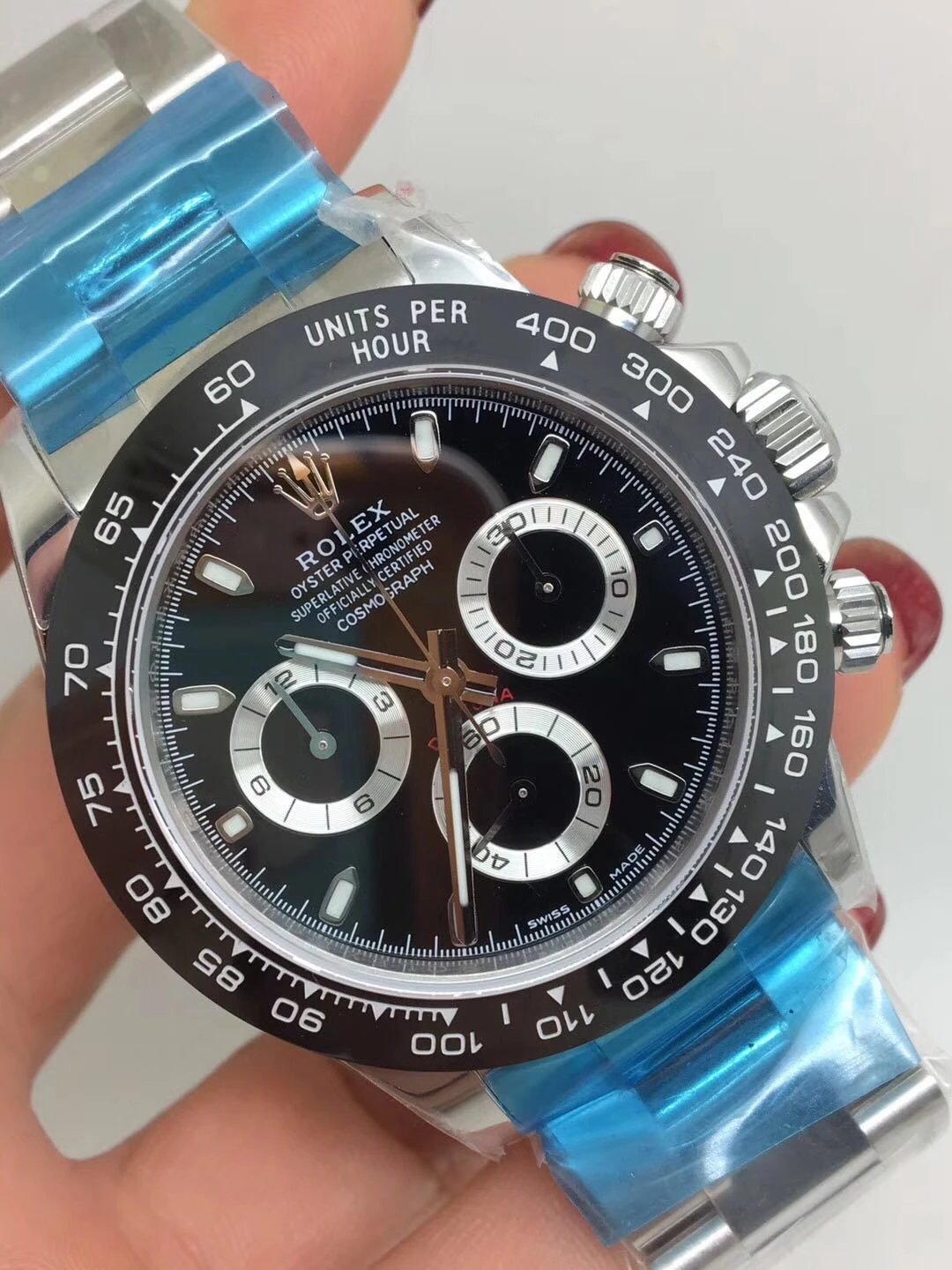Noob Replica Rolex Daytona 116500 Ceramic Black_2