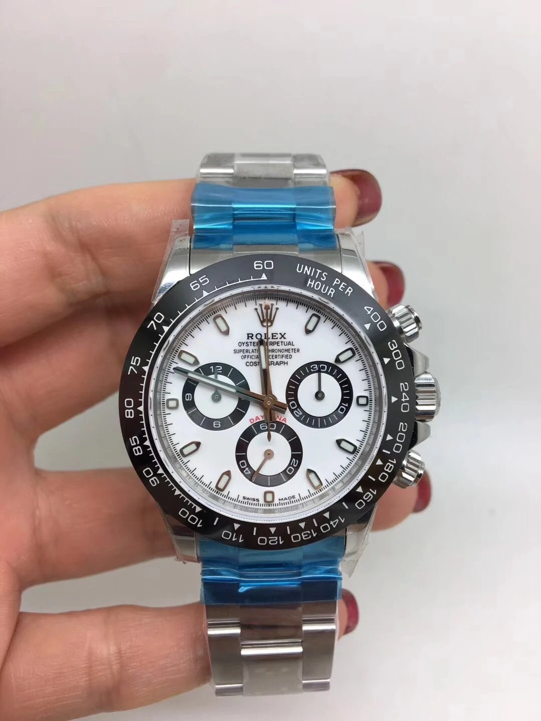 Noob Replica Rolex Daytona 116500 Ceramic White