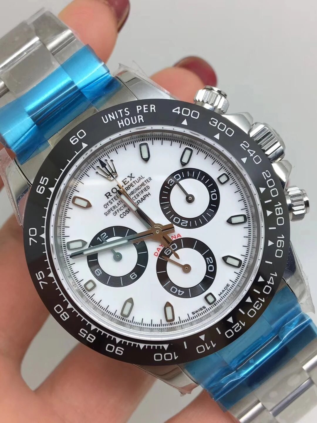 Noob Replica Rolex Daytona 116500 Ceramic White_3
