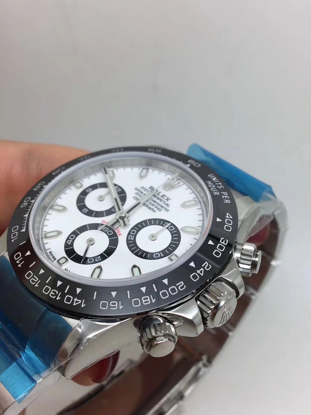 Noob Replica Rolex Daytona 116500 Ceramic White_4