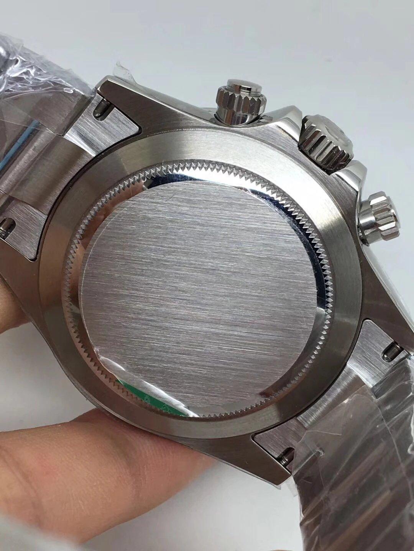 Noob Replica Rolex Daytona 116520 SS White_5