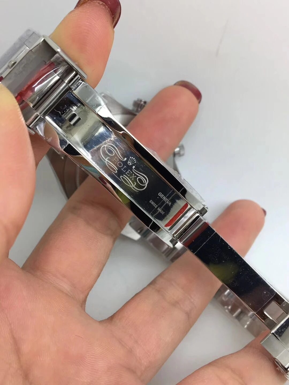Noob Replica Rolex Daytona 116520 SS White_7
