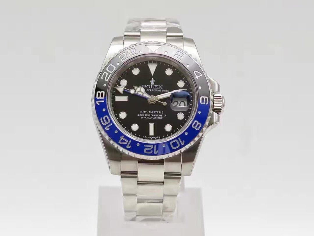 Noob V8 Replica Rolex GMT Master II 116710 BLNR