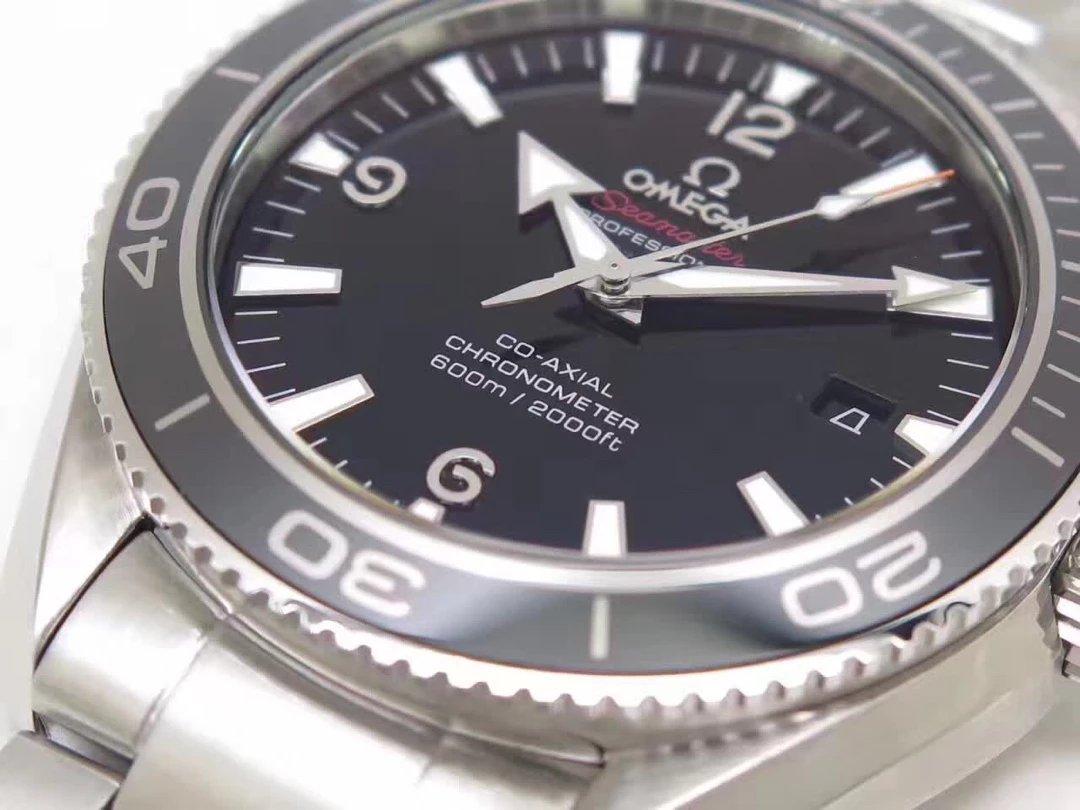 Omega Planet Ocean LiquidMetal Black Dial