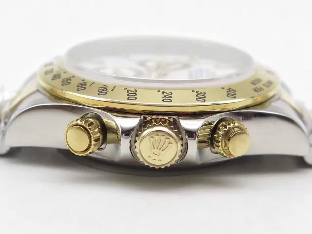 Replica Rolex Daytona Chronograph Buttons Gold