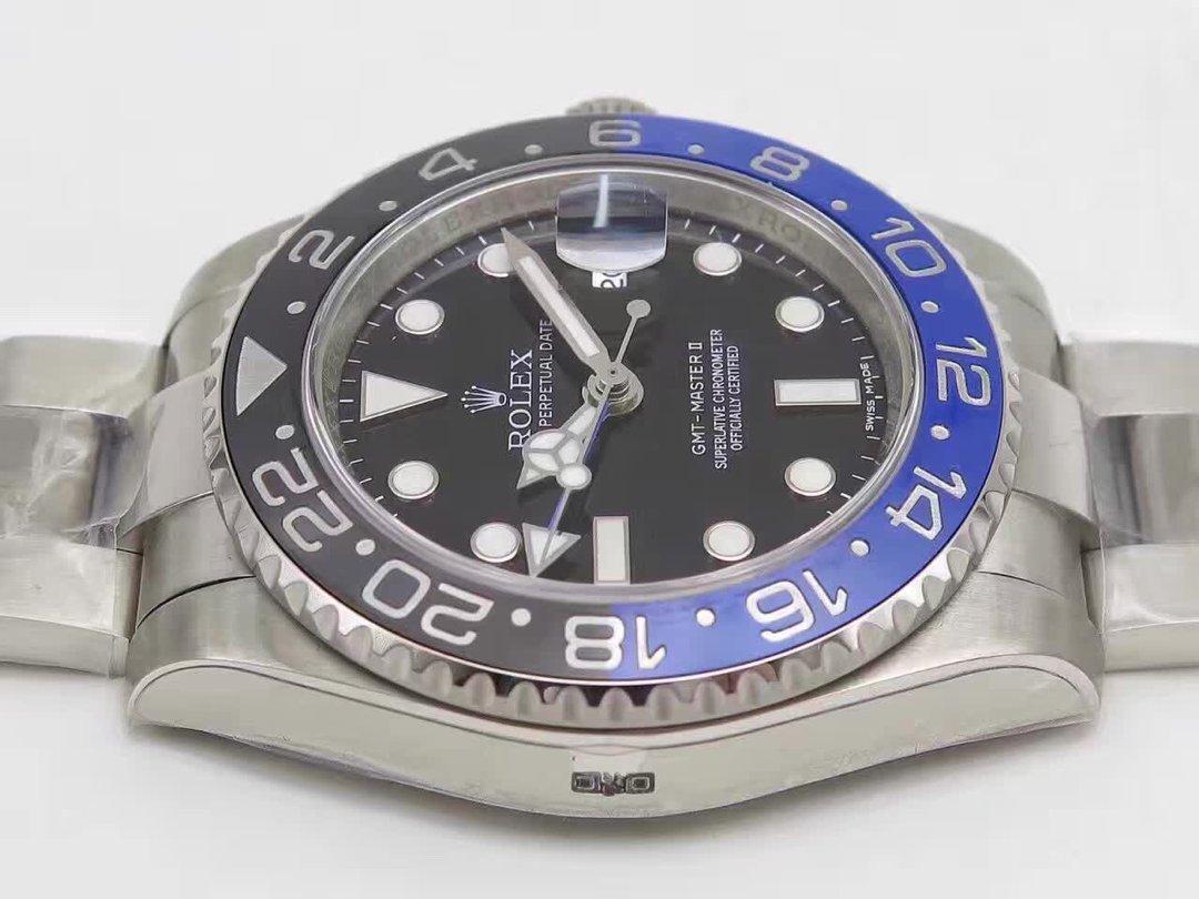 Replica Rolex GMT Master II 116710 BLNR Case
