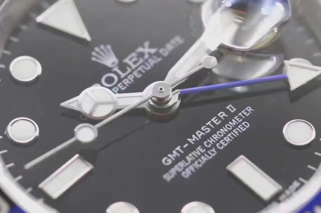 Replica Rolex GMT Master II 116710 BLNR Hand Stack