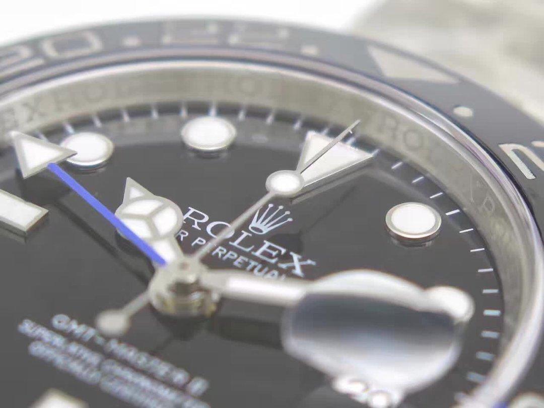 Replica Rolex GMT Master II 116710 BLNR Hour Markers