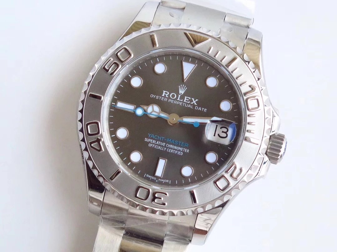 Replica Rolex YachtMaster 268622 Grey Dial