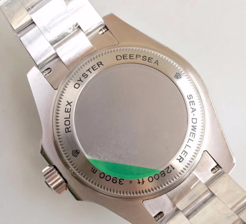 Rolex Sea-Dweller D-Blue 3900m Case Back