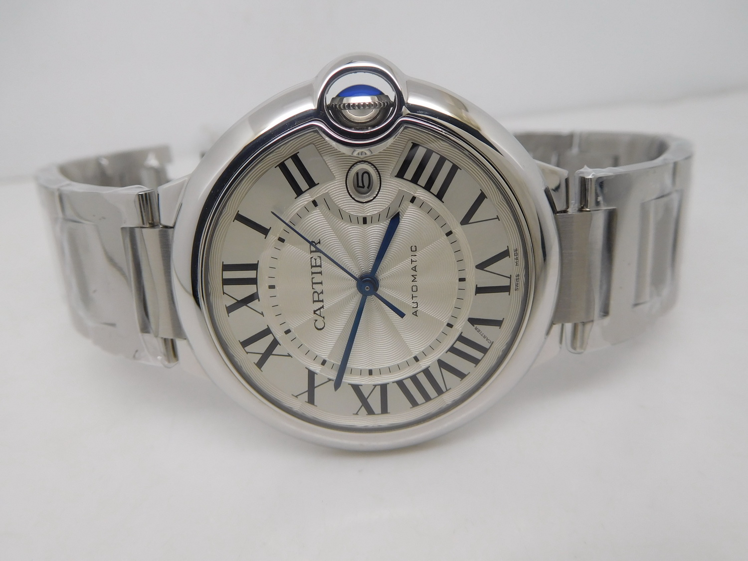 J12 Replica Cartier Mens Ballon Bleu 42mm